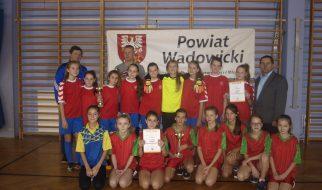 III miejsce w powiecie w rywalizacji sportowej 2016/2017