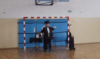 Iluzjonista w szkole