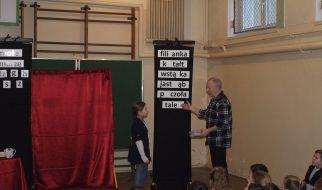 Lekcja ortografii z aktorami