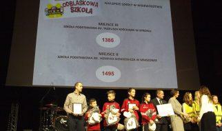 """III miejsce w województwie w konkursie """"Odblaskowa Szkoła"""""""
