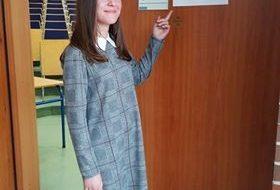 Klaudia Gnojek finalistką konkursu wojewódzkiego