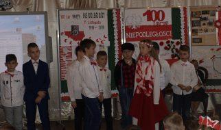 100-lecie niepodległości w strońskiej podstawówce
