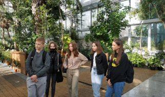 Zwiedzanie ogrodu botanicznego